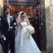 最高の状態で結婚式当日を迎えることができました!感謝です!